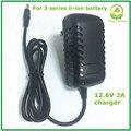 12.6V2A/12.6 V 2A inteligencia batería li-ion cargador de batería para 3 Series 12 V paquete de baterías de polímero de litio de buena calidad