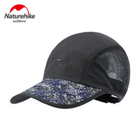 Naturehike Unisex Summer Peaked Cap Outdoor Headwear Sport Hat Fishing Cap Adjustable Baseball Cap