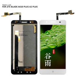 Dla ZTE Blade A610 plus A2 plus BV0730 wyświetlacz LCD montaż digitizera ekranu dotykowego wymiana części darmowe narzędzia w Ekrany LCD do tel. komórkowych od Telefony komórkowe i telekomunikacja na