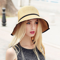 Wide Big Brim Floppy Beach Hats Sun Hat Female Casual Sombrero With Bowknot Fashion Summer Women Sunhat