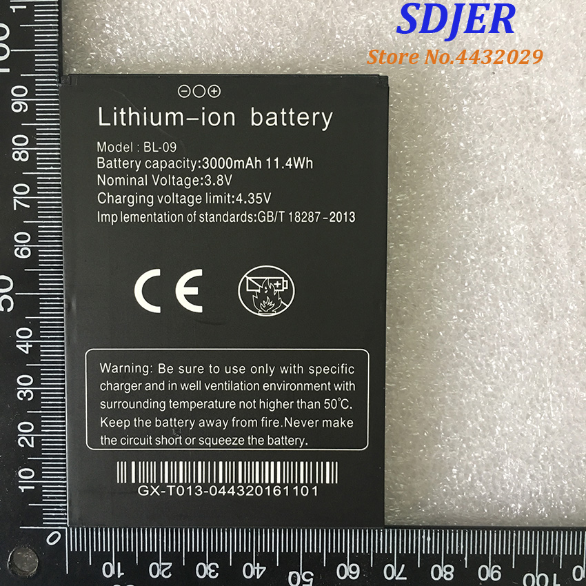 100% New For THL T9 Pro 3000mAh Battery BL-09 For THL T9 Pro Mobile Phones Smartphone Replacement Battery