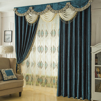 Solid Velvet Curtains For Bedroom Thickening Blackout Curtain Blinds For Living Room Balcony Tulle Yarn Drapes Valance cortina