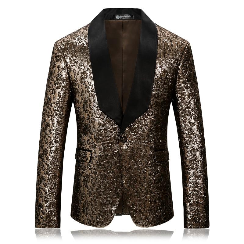 Μαύρο Lapel χρυσό Tuxedo κοστούμι κοστούμι - Ανδρικός ρουχισμός - Φωτογραφία 2