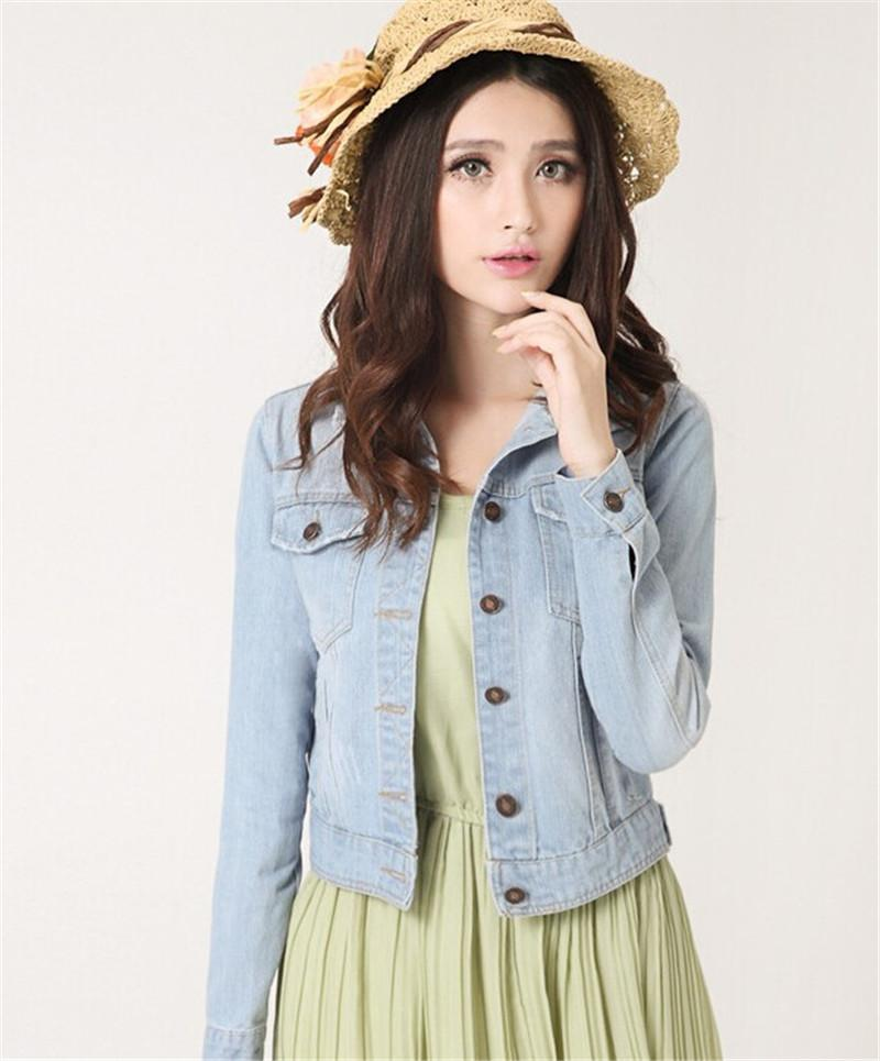Aliexpress.com : Buy Fashion Women Denim Jacket Plus Size S 4XL ...