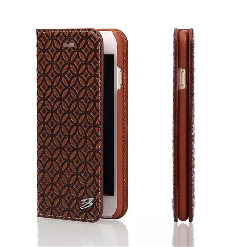 Modest Genuine Leather Case for iPhone 6S Cover Retro Coins Wallet Flip Real Leather Fundas for Apple iPhone 6 4.7 Bag Cases 360 degrees