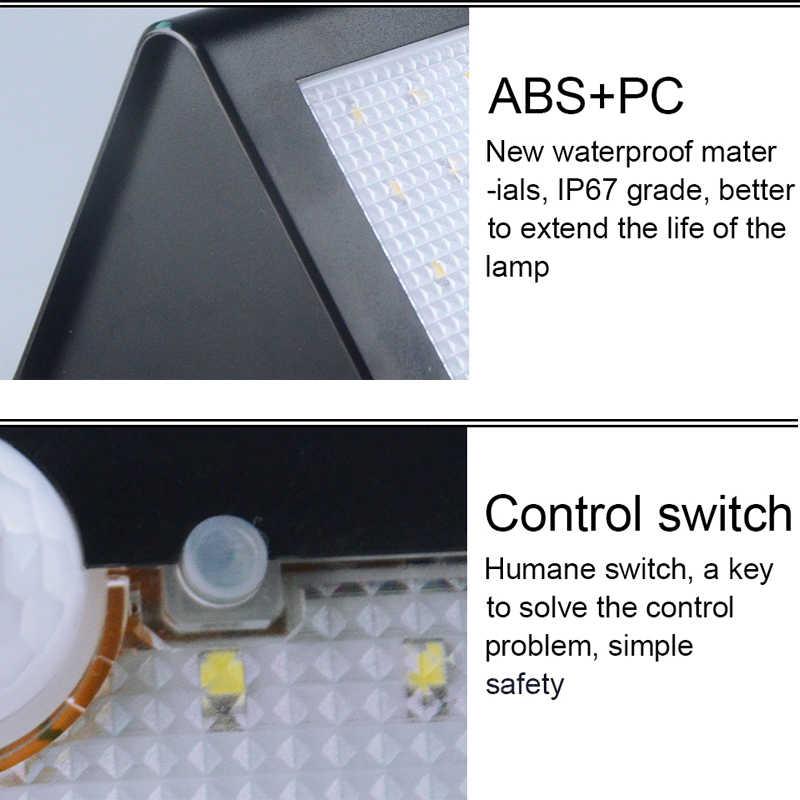 2 шт солнечный свет 46 светодиодный солнечный свет ПИР движения человеческого тела Сенсор открытый светодиодный Двор садовый фонарик с защитой от воды IP65 бра