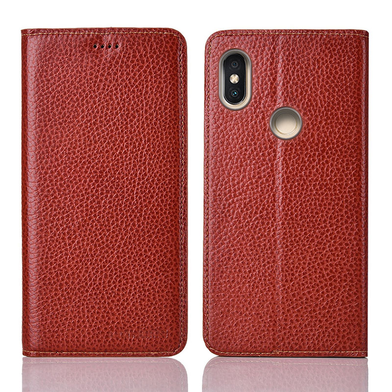 for Xiaomi redmi S2 Case Flip Genuine Leather Soft Silicon Back Cover for Xiaomi redmi S2 Coque