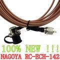 Новый Розовый НАГОЯ RC-ECH-142 5 М RG-142 Крышка Кабель-Удлинитель для YAESU Мобильной Радиосвязи Антенна