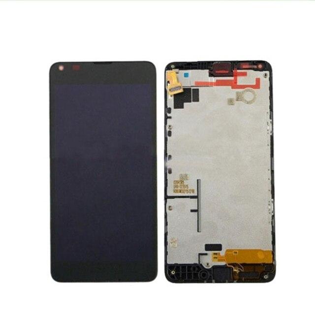 Nova LCD para nokia lumia 640 tela de toque com quadro digitador conjunto da tela frete grátis