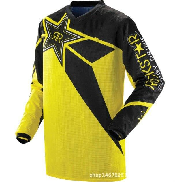 Cycling The New Racing Jersey Mountain Bike Riding Shirt Long Sleeved T-shirt Motorcycle Racing Bike jerseys Motorcycle Riding j