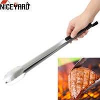 Niceyard multifunções pinças para churrasco salada alimentos clipe grill ferramentas de aço inoxidável churrasco cozinha ferramentas