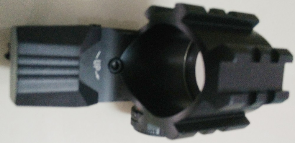 Tactical Holographic 4 Reticles projetada Red Green Dot mira Reflex Scope Mount