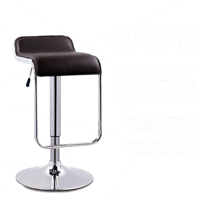 Simple Design Lifting Swivel Bar Chair Rotating Adjustable Height Pub Bar Stool Chair PU Material Office Chair cadeira the bar chair hairdressing pulley stool swivel chair master chair technician chair