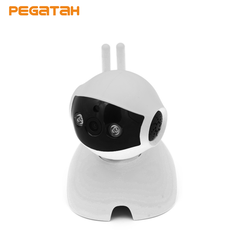 New cute dog 720P P2P Wireless Wifi IP Camera 64G TF Card slot Baby Monitor Night Vision Home Surveillance Security CCTV Camera