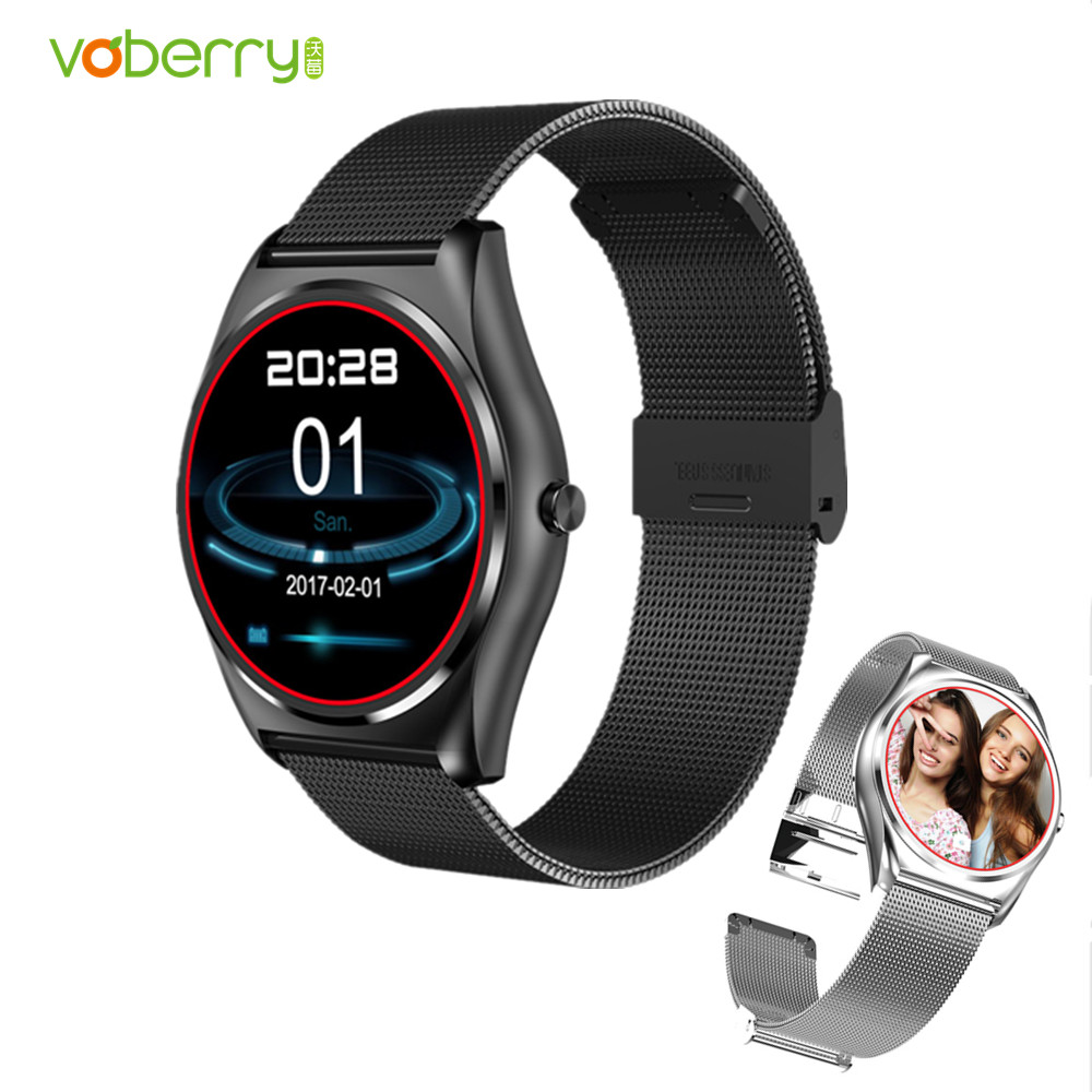 VOBERRY N3 Smart Watch With Fitness Tracker Heart Rate Monitor Bluetooth Smartwatch Call Reminder Sport Bracelet Watches casual rwatch u11s smart bluetooth watch smartwatch with led display music player u11s health wrist bracelet heart rate monitor