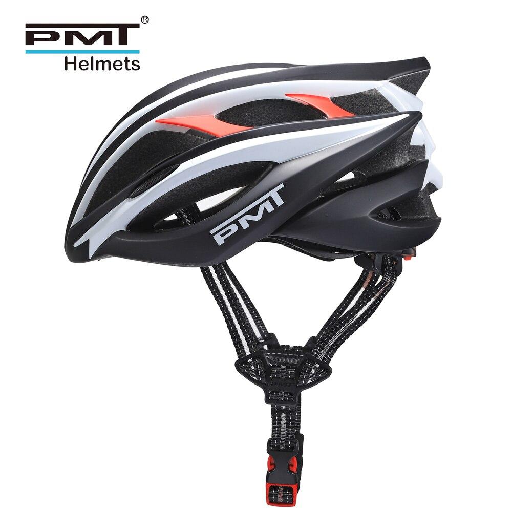 PMT Helmet Road Cycling 2019 Profession Bicycle Helmets For Men MTB Mountain Bike Helm Adult 23 Holes Ultralight 245g M L Size