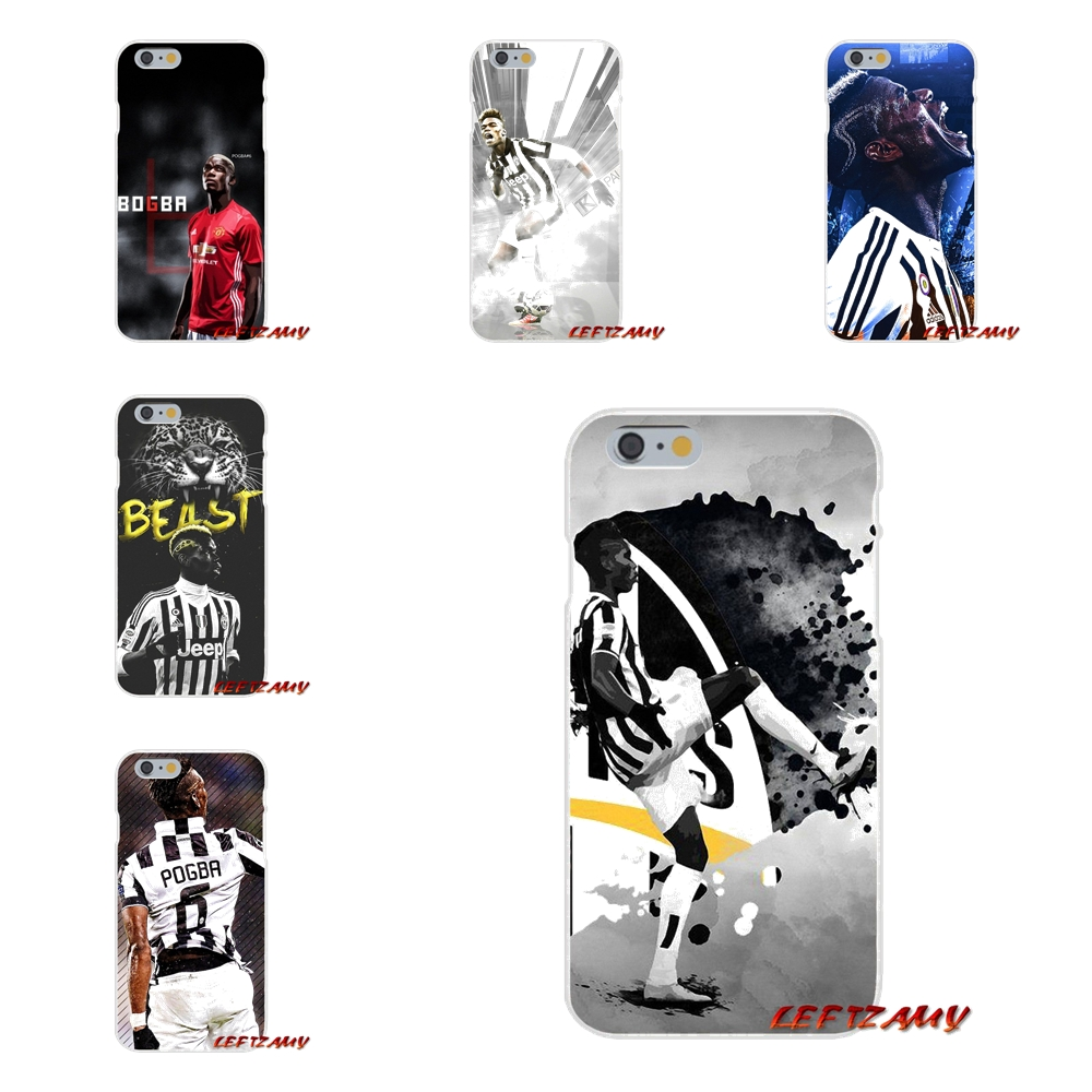 Paul Pogba soccer player Slim Silicone phone Case For Samsung Galaxy S3 S4 S5 MINI S6 S7 edge S8 S9 Plus Note 2 3 4 5 8