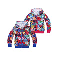 Lindo niños causales camiseta de la capa de dibujos animados pikachu pokemon ir hoodied tops para 5-12años niños niño niña linda ropa de vestir exteriores