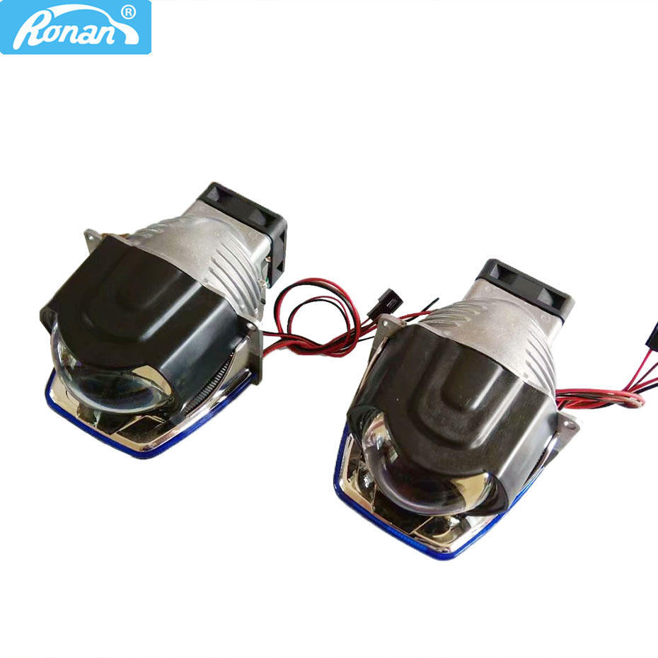 Ронан 3 дюймов светодио дный лазерной фар автомобиля с Би светодио дный объектив проектора 35 Вт для светодио дный, 10 Вт для лазера с импорт