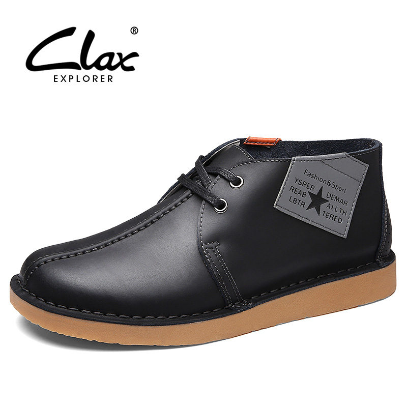 Black Leather Chukka Boots Promotion-Shop for Promotional Black ...