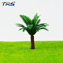 5CM 1 200 SCALE PALM TREES Miniature Model Trees For MODEL Landscape Train Railway Park Scenery