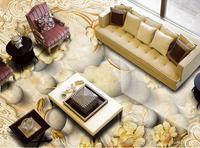 3d Floor Custom 3d Wallpaper Living Room European Marble Pattern Murals 3d Floor Painting Wallpaper Self