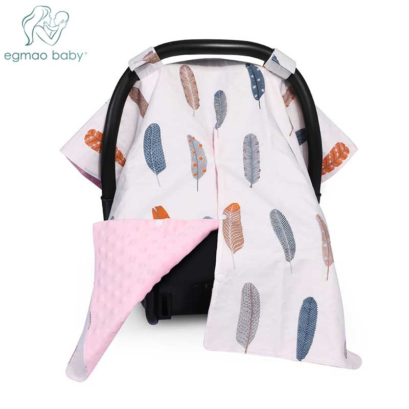 Infant Car Seat | 2 In 1 Carseat Canopy And Nursing Cover Large Infant Car Seat Canopy For Girl & Boy  Best Baby Shower Gift For Breastfeeding Mom