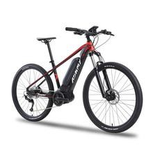 27 5inch electric mountian bicycle 36V250W bafang mid motor Hybrid bike electric e bike 9speed EMTB