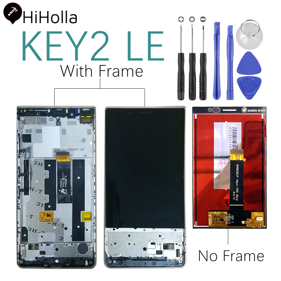For BlackBerry Key2 LE LCD Display Touch Screen Digitizer Assembly With Frame For BlackBerry KeyTwo LE