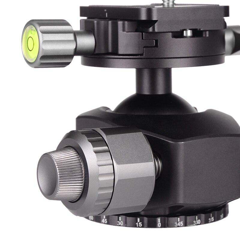 Image 5 - XILETU XLS284C+G44 Carbon Fiber Tripod Professional Photography Camera Tripod Stand Double Panorama Ball Head for DSLR TripodeTripods   -