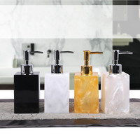 5 Pcs Resin Bath Accessories Set Lotion Dispenser with Pump+Toothbrush Holder+Soap Dish+2 Tumbler Sets Best Price