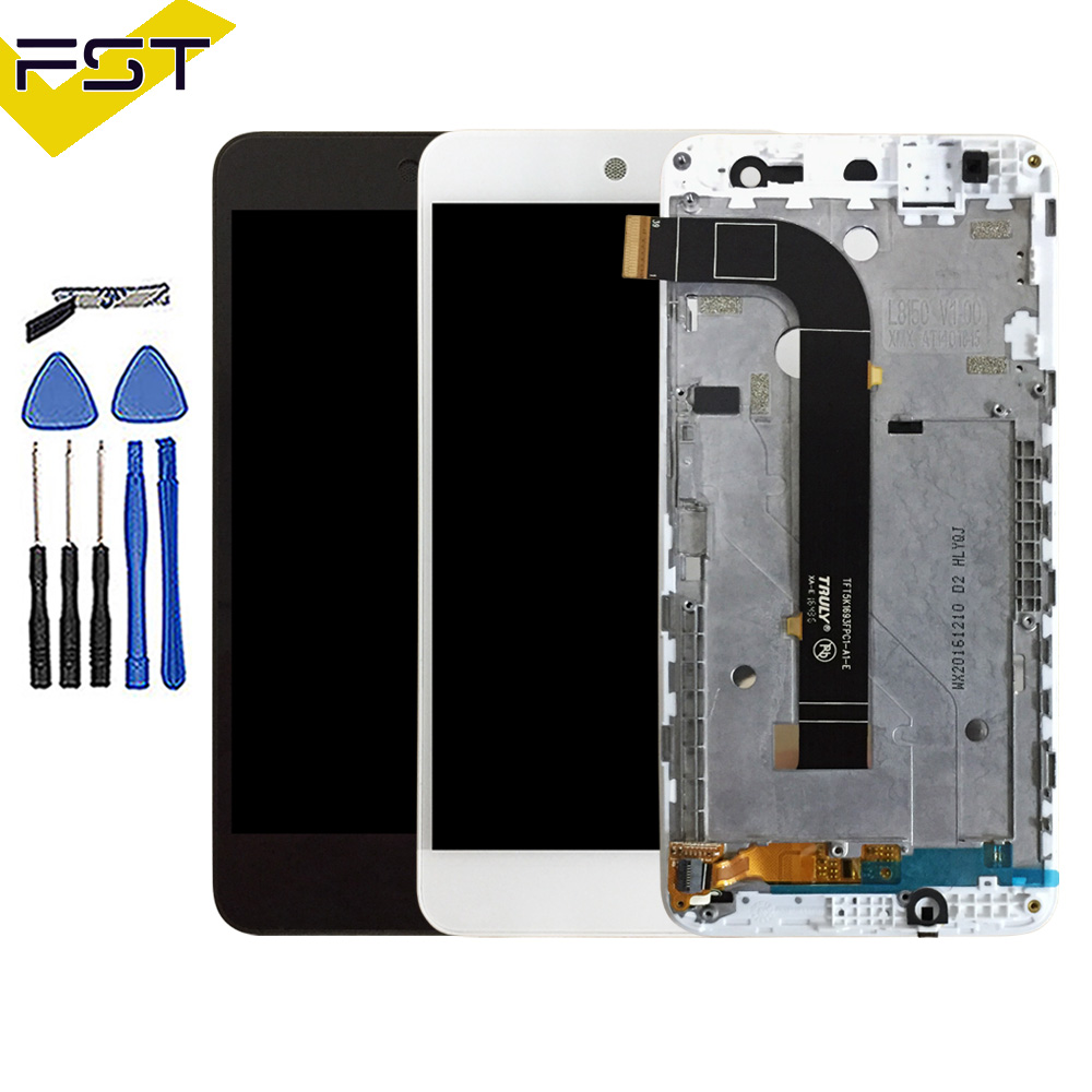 Black/White For General mobile Discovery 4g Lcd Display with Touch Screen Digitizer Assembly With Frame Replacement Parts+ToolsBlack/White For General mobile Discovery 4g Lcd Display with Touch Screen Digitizer Assembly With Frame Replacement Parts+Tools