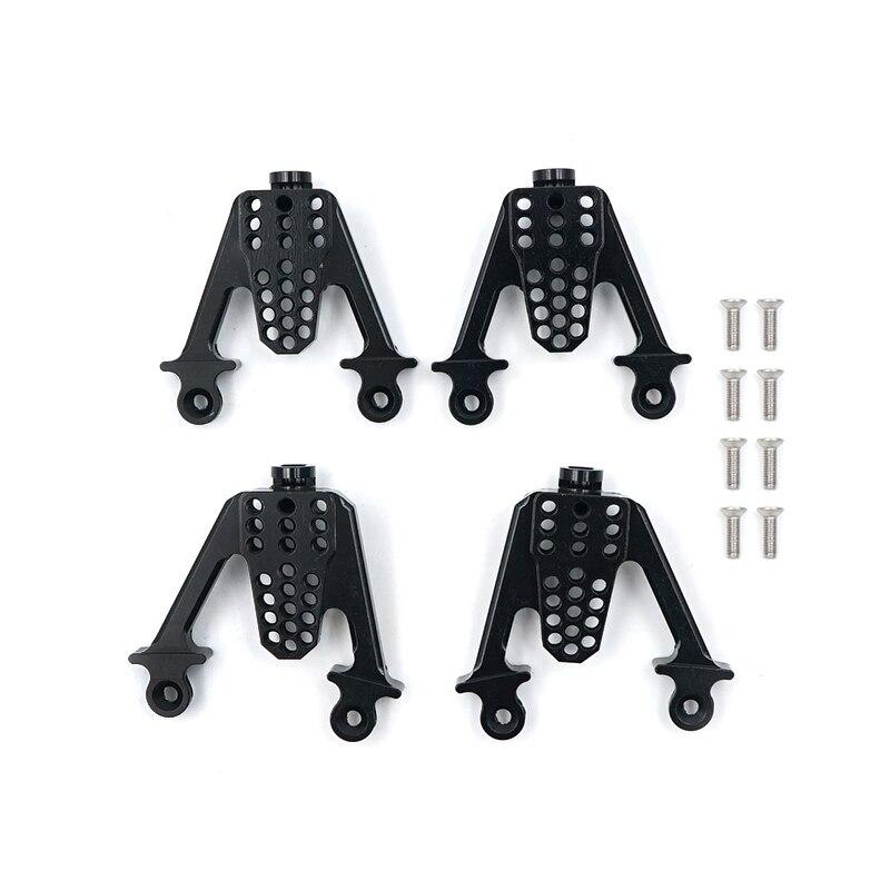 For Axial SCX10 RC Crawler Aluminum Rear /& Front Shock Mount LIFT Shocks 4PCS