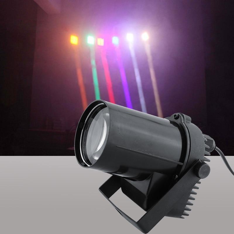 3W Full Color Choose LED Beam Pinspot Light New Rectangular Beam Effect LED Dance Party DJ Bar Christmas Disco Stage Lighting