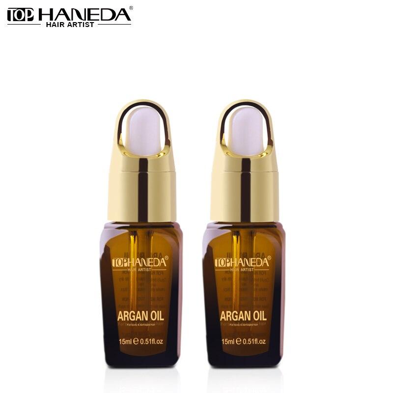 2 Pieces Minyak Argan Maghribi Pure pre-perm Pembaikan penjagaan - Penjagaan rambut dan penggayaan
