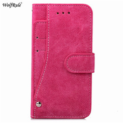 WolfRule For Case Iphone 8 Plus Cover Flip PU Leather Wallet Magnet Card Slot Case For Iphone 8 Plus Case For iPhone 8 Plus 6