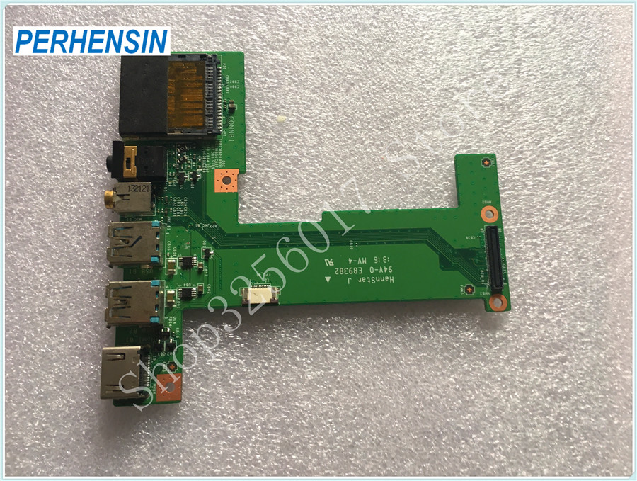 FOR MSI FOR GE70 MS-1757 Genuine HDMI Audio USB port print board MS-1757B REV 1,1 ru russian for msi ge60 gt60 ge70 gt70 16f4 1757 1762 16gc gx60 gx70 16gc 1757 1763 backlit laptop keyboard