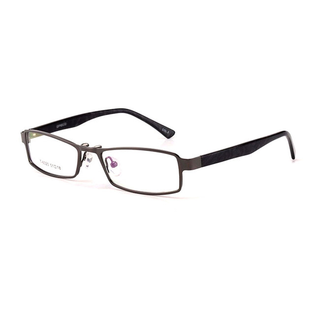 Toptical Óculos Quadro Masculino Óculos Frames Completo Preto Cinza Ultra-luz Polarizada Clips Liga Miopia Prescrição Óptica