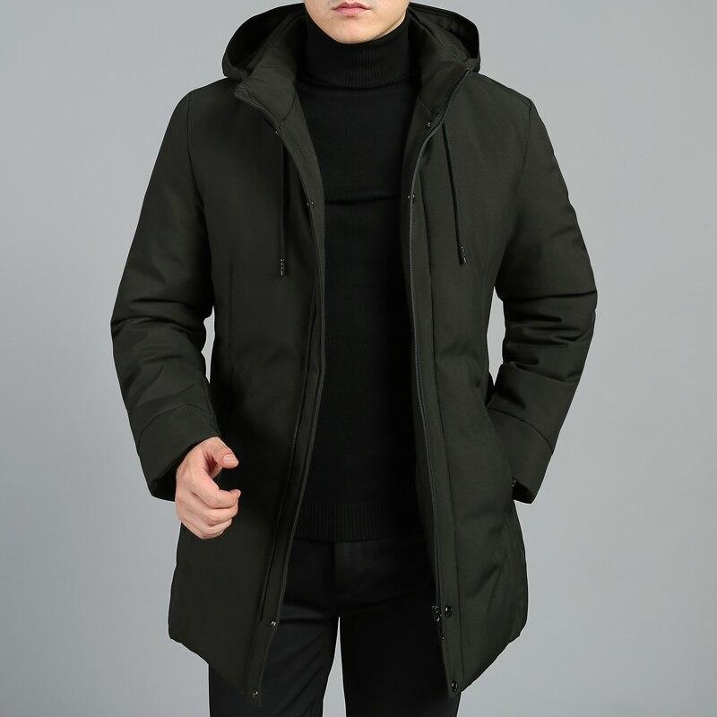Zorro Kni ght 2018 Hiver Veste Hommes Design De Mode Marque Parka Hommes Vêtements Zipper Manteau Mâle Avec Poches Plus La Taille l-4XL