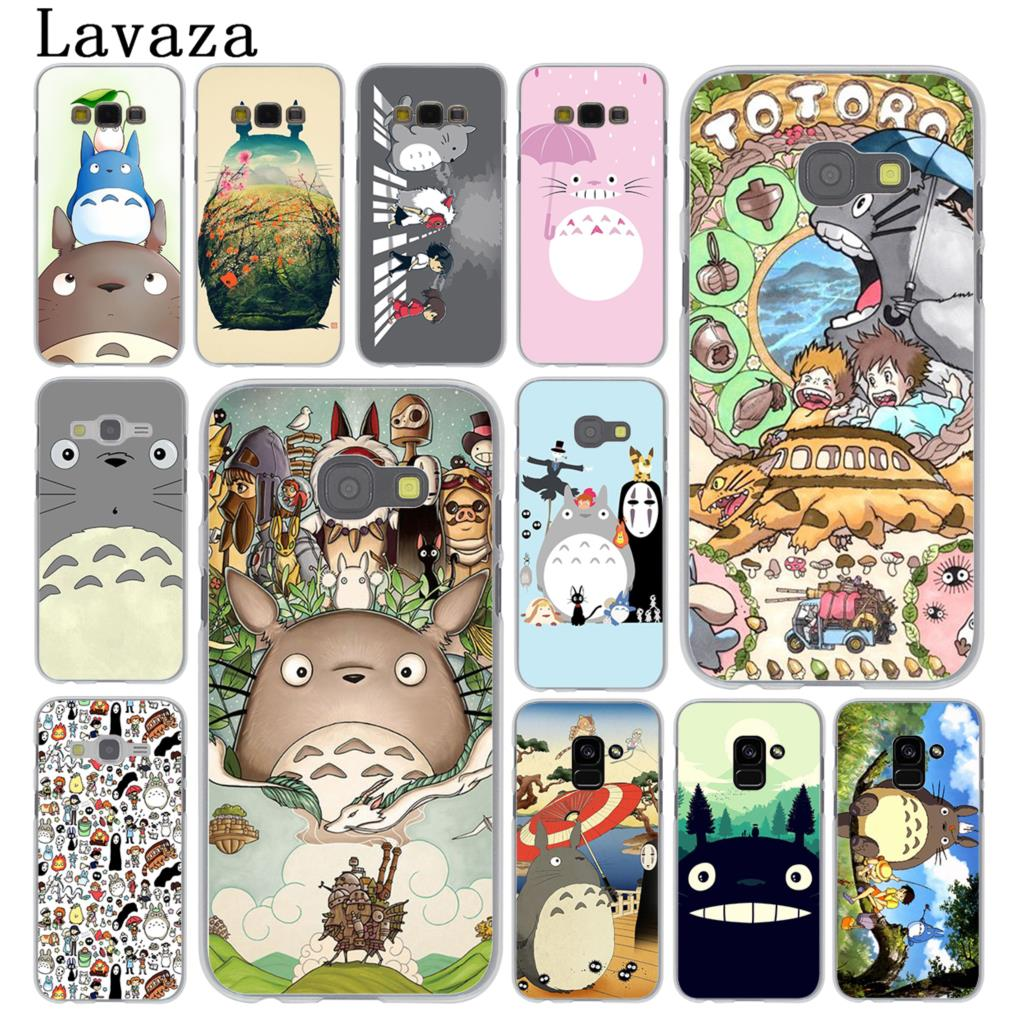 Lavaza <font><b>cartoon</b></font> My Neighbor Totoro <font><b>Phone</b></font> <font><b>Case</b></font> for <font><b>Samsung</b></font> Galaxy Note 10 9 8 A9 A7 A6 Plus 2018 A3 <font><b>A5</b></font> 2017 <font><b>2016</b></font> 2015 A2 Cover image