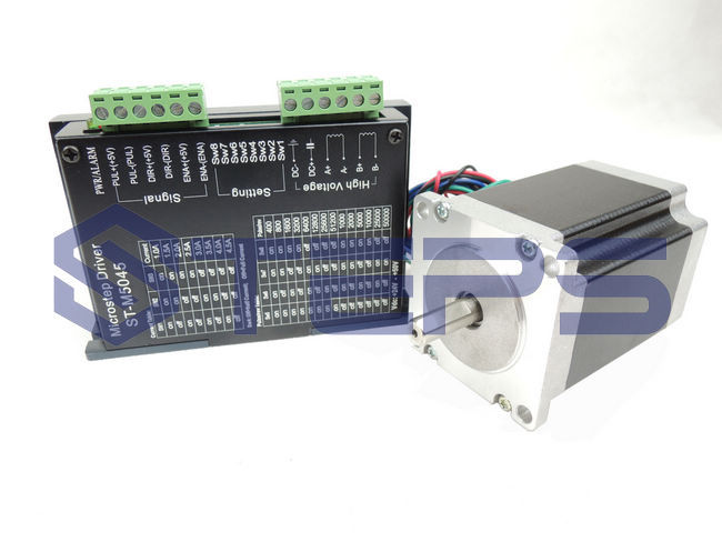 CNC Kit - M542 Stepper Motor Driver Controller 2 Phase 4.5A DC24-50V +57 78mm Stepper motor 2 phase stepper motor and drive m542 86hs45 4 5n m new