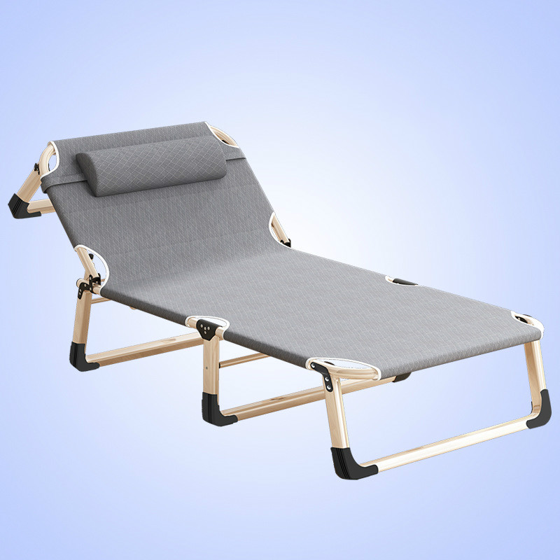 Tremendous Us 70 86 30 Off A Portable Folding Lounge Chair Home Office Nap Bed Outdoor Beach Bed Heavy Duty Padded Recliner Breathable And Comfortable In Unemploymentrelief Wooden Chair Designs For Living Room Unemploymentrelieforg
