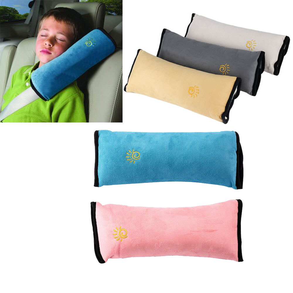 2018 Kid Car Pillows Auto Safety Seat Belt Vehicle Shoulder Cushion Pad Children Protection Support Pillow For Kids Car Pillow