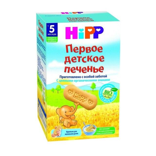 Хипп - печенье первое детское, 6 мес., 150 г