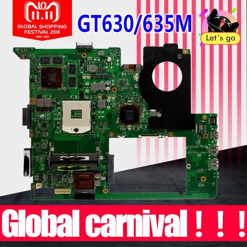 N76VM Motherboard REVP:2.2 GT630/635M RAM For ASUS N76VJ N76VB N76VZ N76V laptop Motherboard N76VM Mainboard N76VM Motherboard