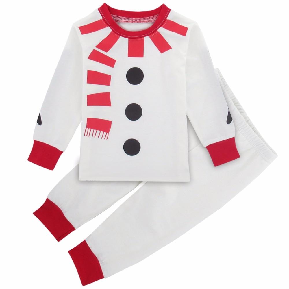 2 3Y Baby Boys Girls Christmas Pajamas Set Infant Xmas Sleepwear ...