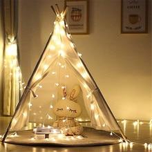 USB 5V Battery 3M/5M/10M Garland Xmas Warm LED Ball String Light Operated Fairy Lights For Christmas Tree Wedding Party Decor