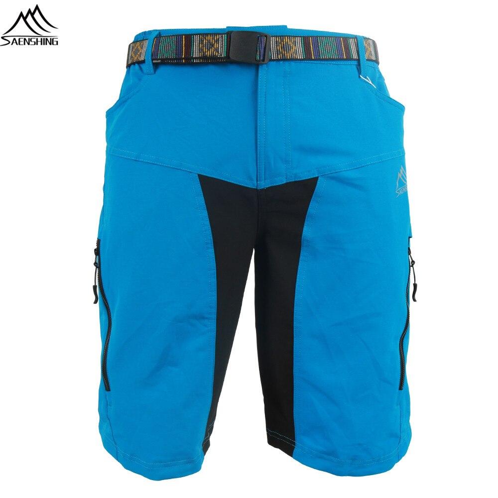eeddd4cbab SAENSHING cuesta abajo Mtb pantalones cortos de bicicleta Ciclismo Shorts  con cinturón corta Vtt cortos de bicicleta de montaña de las Bermudas  Culotte ...