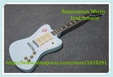 Лидер продаж китайский синий океан отделка Suneye Firebird китайская электрогитара OEM оригинальная гитара для продажи