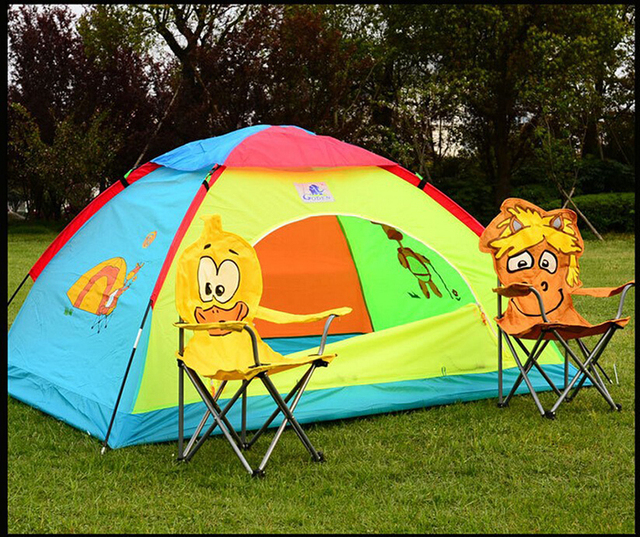 New Large Explorers Outdoor Camping Equipment Children Tent Room Baby House For Kids Dream Game